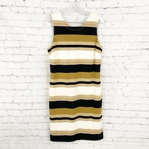 Banana Republic Gold Dress. SZ 14